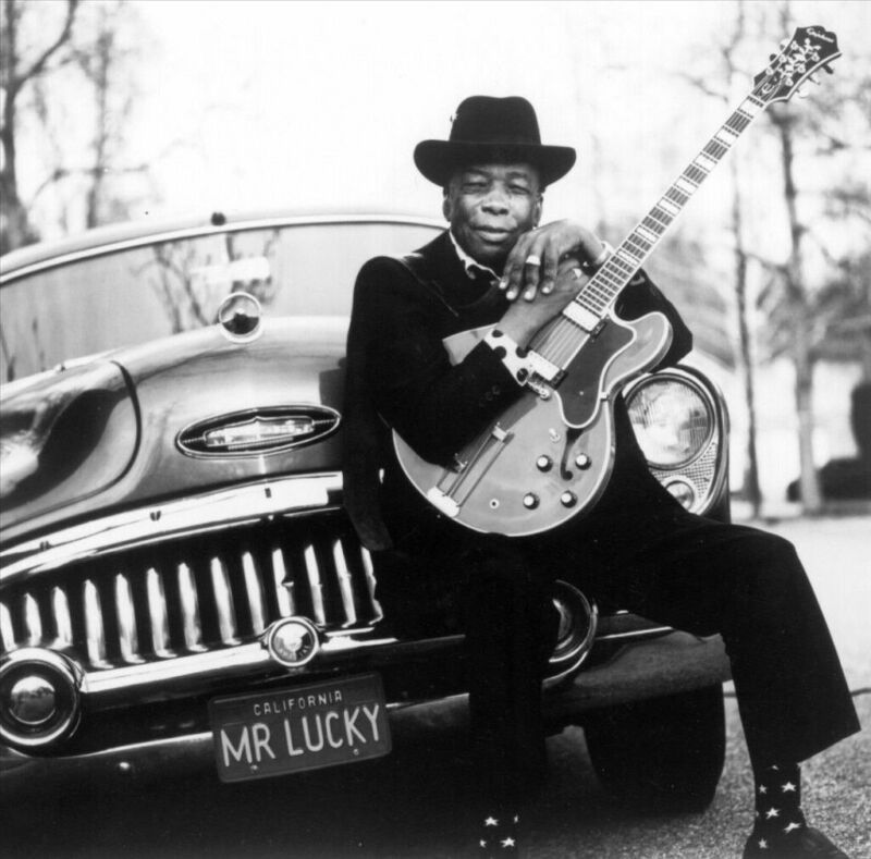 JOHN LEE HOOKER 8X10 GLOSSY PHOTO PICTURE IMAGE #4