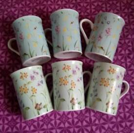 Collection of 6 wessex mugs