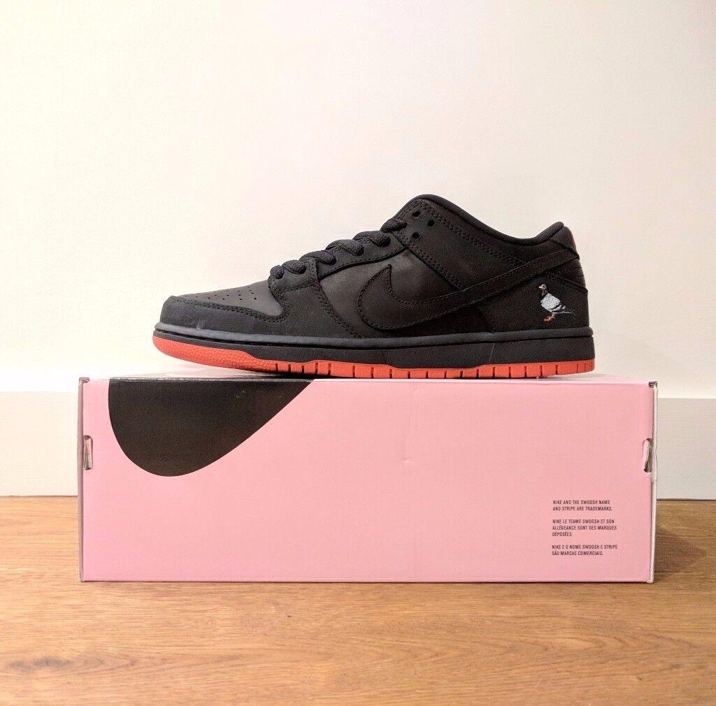 Nike SB Dunk Low Pro 'Black Pigeon' UK 9 US 10