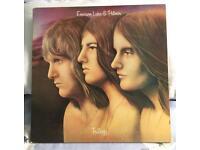 Emerson, Lake & Palmer Trilogy LP. 33rpm. EXCELLENT.