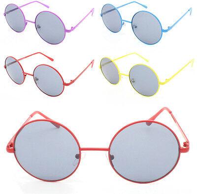 Farbig Rahmen Rund Retro John Lennon Style Teashade Sonnenbrille Kostüm - John Lennon Sonnenbrille Kostüm