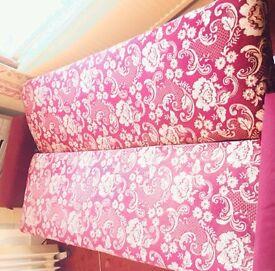 URGENT Sofa bed/Futon with storage (retro/ vintage/ shabby chic)