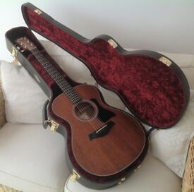 TAYLOR USA 322E GRAND CONCERT ELECTRO ACOUSTIC IMMACULATE PLUS TAYLOR CASE