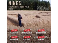 6 x Nines Floor Downstairs Standing Tickets - Friday 21st September - LONDON O2 Kentish Town