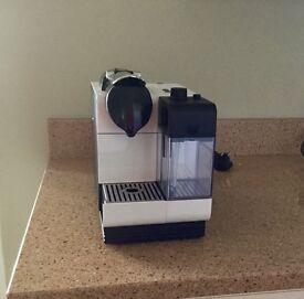 Nesspresso lattissima +coffee machine