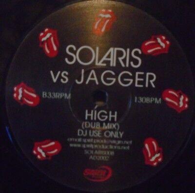 "SOLARIS VS JAGGAR - High ~ 12"" Single PROMO"