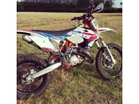 Ktm exc 125cc sixdays