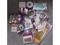 Assortment of crafts goodies