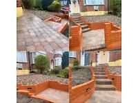 Gardening & Landscaping Services/ Brickwork/ Block paving/ Fence / Slabs