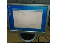 """Samsung 15"""" LCD monitor for PC / CCTV SECURITY CAMERA - GREAT CONDITION - DELIVERY"""