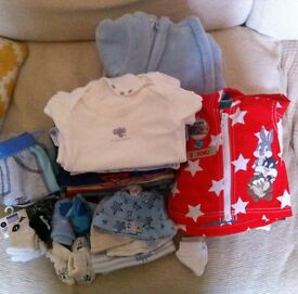Baby Boy Bundles - First Size/3-6 month/Sleeping Swaddles