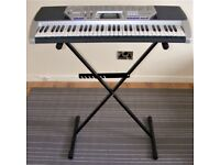 Casio CTK-496 keyboard with stand