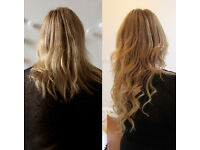 Get holiday fabulous! Keratin wax/micro rings, hair extensions from £150