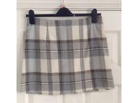 Short Tartan Skirt Size 12