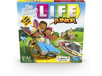 Hasbro Gaming The Game of Life Junior Board Game Kids From Age 5 (NEW in Box)