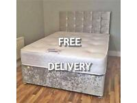 ❗️New UK manufactured DIVAN BEDS with FREE HEADBOARD + DELIVERY 📦