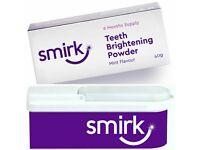 smirk teeth whitening powder