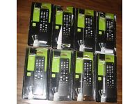 8 TECHNIKA UNIVERSAL TV REMOTE CONTROLS TK51R JOB LOT