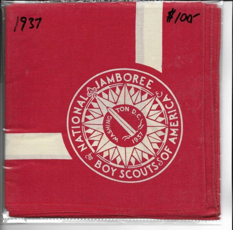 National Jamboree 1937 N/C; red