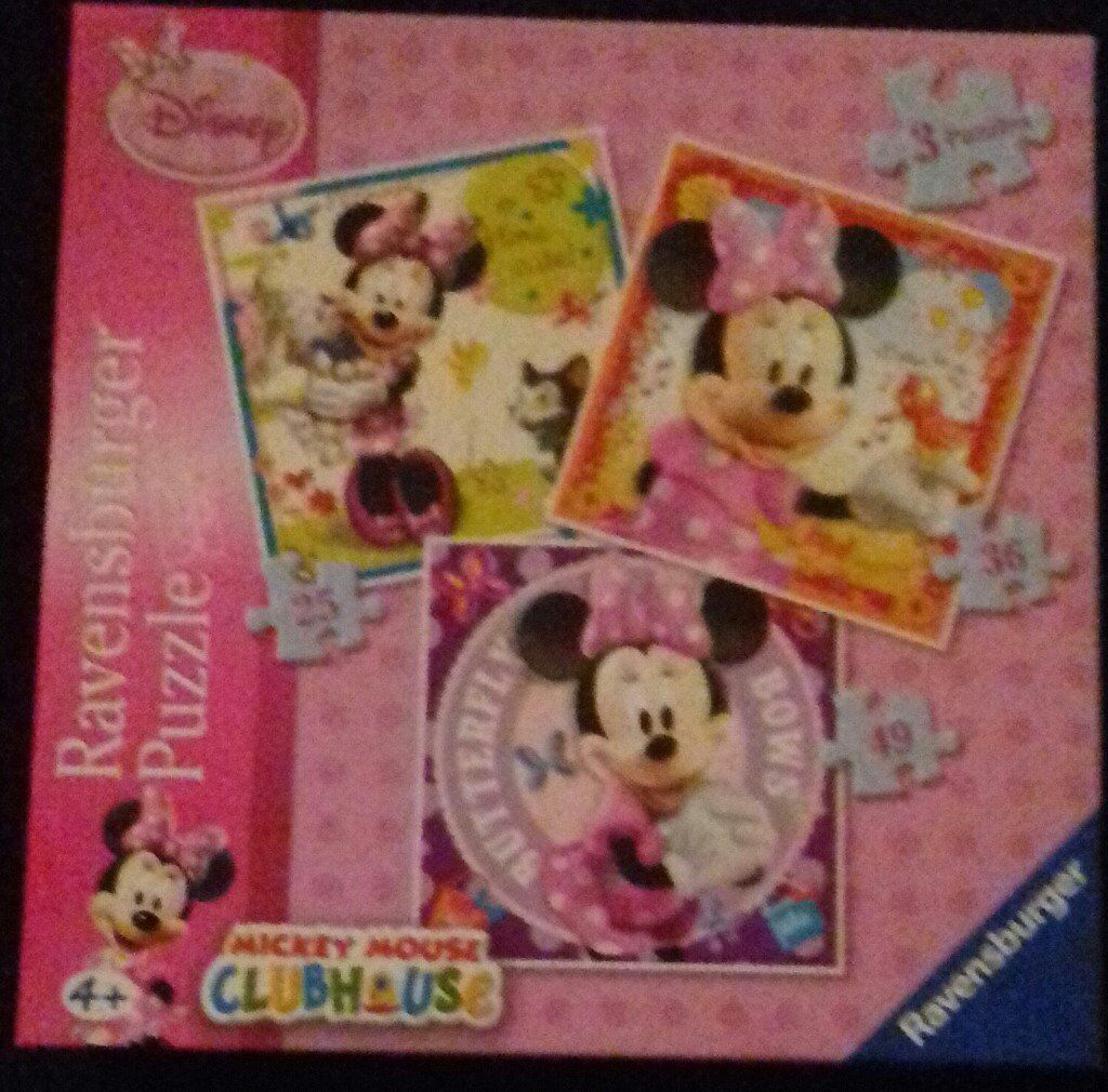 Minnie Mouse and Hello Kitty Jigsaws