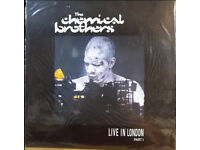Chemical Brothers Live In London part II Argentinian release Still sealed. Vinyl LP