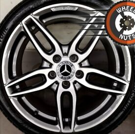 "18"" Genuine AMG Merc A Class alloys Golf Leon perf cond Bridgestone tyres"