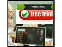Quran classes for children and adults one toone classes 3 days free trial
