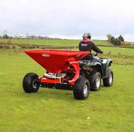 Fertiliser Sower - 300/350kg Options Available from Quad-X