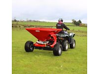 Fertiliser Sower - 300/350kg Options Available from Quad-X