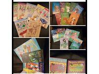 Various girls books