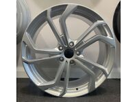 "19"" VW GTI TCI style alloys wheels and tyres (5x112) Golf MK5, MK6, MK7, Jetta, Passat, Caddy Etc"