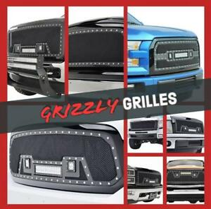 NEW GRIZZLY GRILLES!!! AVAILABLE FOR ALL TRUCKS !!! LOWEST PRICES NATIONWIDE