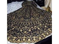 Asian bridal wedding lehnga for sale