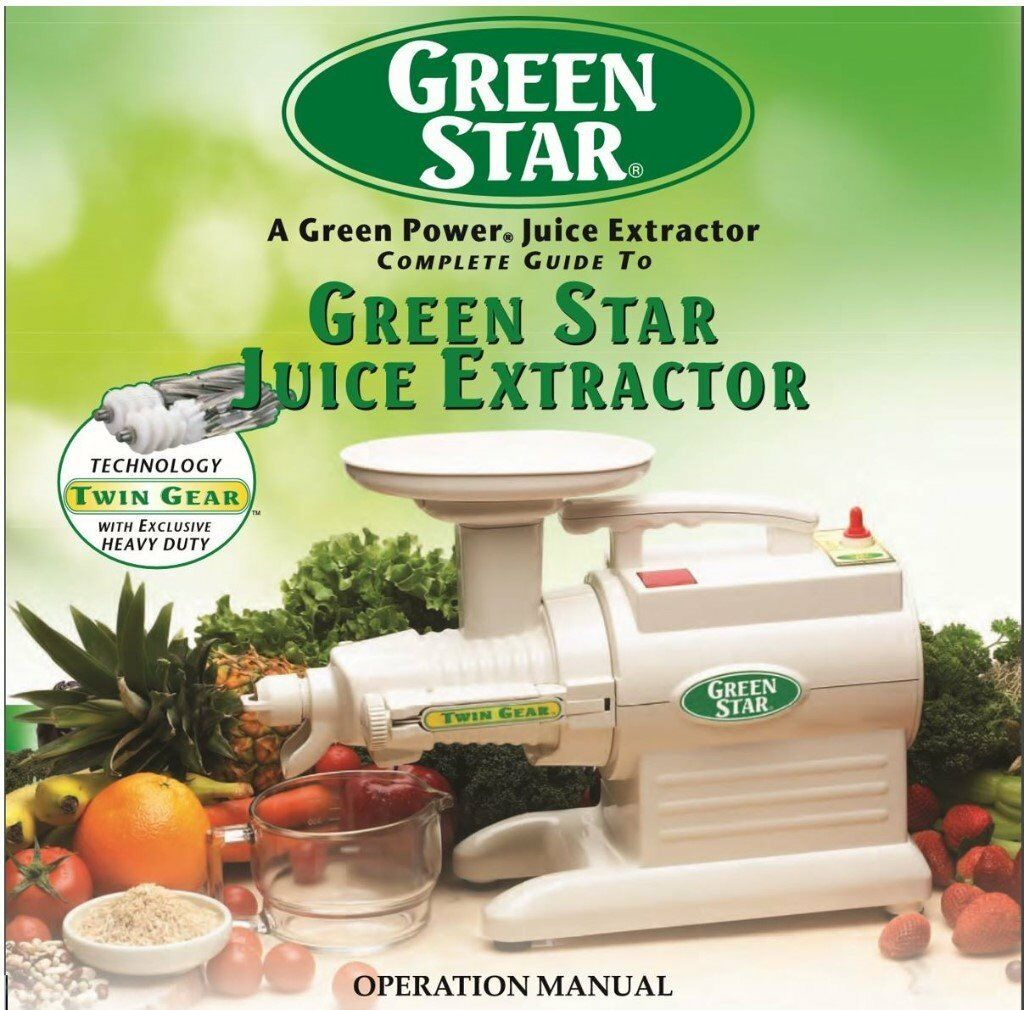 e1e237fb1784 Tribest Green Star GS3000 Twin Gear Juicer (lightly used) + full  accessories. Free UK Delivery