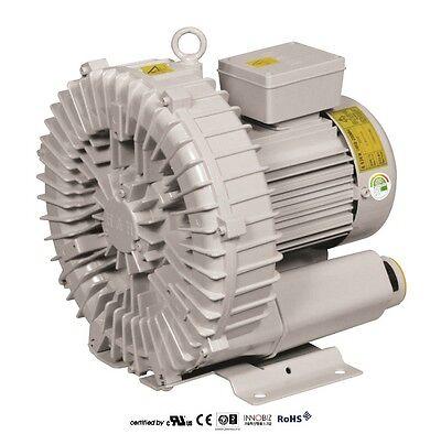 Pacific Regenerative Blower Pb-200 Hrb-200 Ring Vacuum And Pressure Blower