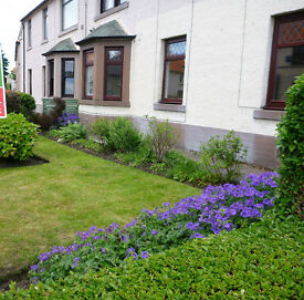 Spacious 3-bed unfurnished ground floor flat to rent, Dalkeith. Renovated 2015. Available 21st Dec.