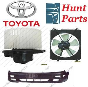 Toyota Camry 1992 1993 1994 1995 1996 AC Compressor Fan Assembly Alternator Blower Motor Bumper Front Rear Cover Bracket