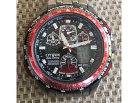 Citizen Men's Red Arrows Skyhawk A.T. Bracelet Watch JY0110-55E