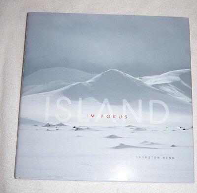 Island Im Fokus by Thorsten Henn (2009) photographs of Iceland - German language