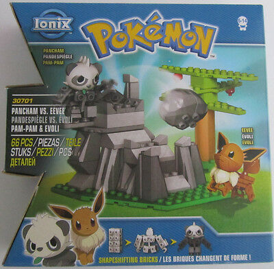 Pokemon * 66 tlg. Bausteine Set * Pam-Pam * Evoli * Ionix * Neu * OVP
