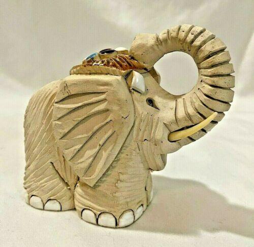 "Artesania Rinconada Figurine Elephant 3.75"""