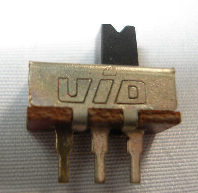 Uid Micro-miniature Slide Switch Spdt Pcbhole Mount 12mm-free Shipping