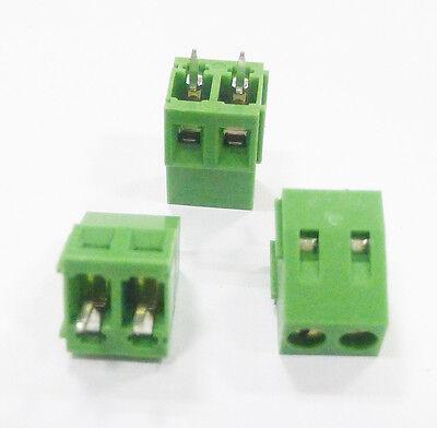 10pcs Kf128-2p 2-pin Plug-in Terminal Block Connector 5.08mm Pitch Good