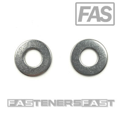 100 38 Stainless Steel Flat Washer 100 Pcs Fast Free Shipping