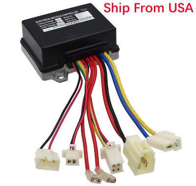 24V Controller w/ 7 Connector ZK2430-D-FS For Razor E200(V13+) E300 MX350 (V33+)