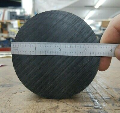 Delrin - Acetal Round Rod 3.5 Od Black With Porosity-free Center
