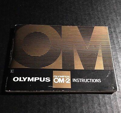 Retro Vintage Olympus OM-2 35mm SLR Film Camera - User Instructions Manual