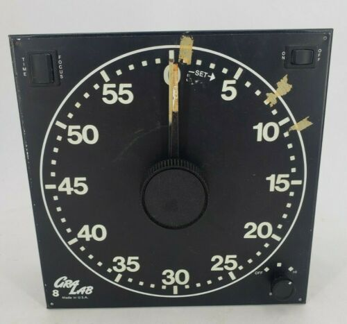 Gra Lab 300 Electro Mechanical Buzzer Outlet Plug Darkroom Timer