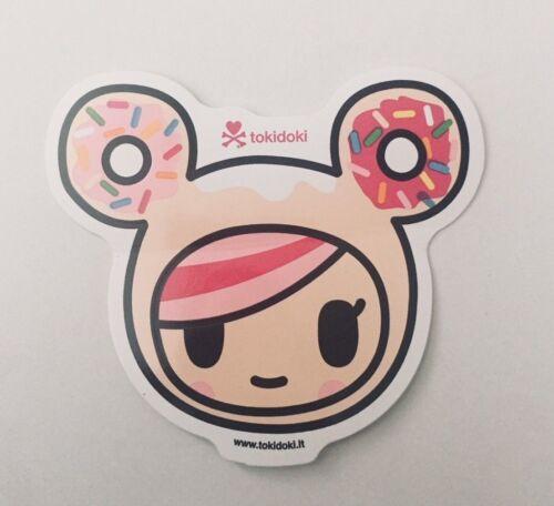tokidoki sticker - Donutella Face