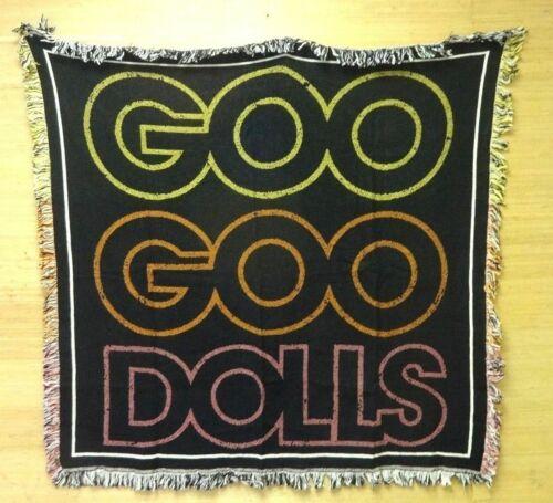 Goo Goo Dolls Throw Blanket Tapestry 2014 Magnetic Tour VIP Concert Exclusive